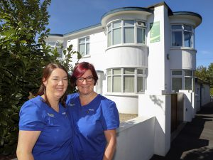 Ruth and Patricia at Castletroy Dental Clinic